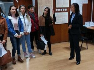 ТП на НОИ – Кърджали посрещна учениците от професионалната гимназия по икономика